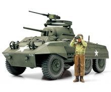 1:48 WWII US Light Tank M8 Greyhound (1)