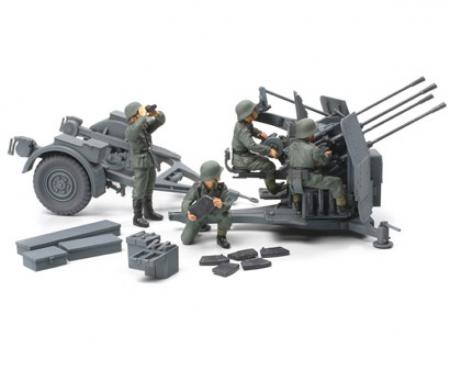 tamiya 1:48 WWII Dt. 20mm Flakvierling 38 (4)