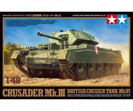 1:48 WWII Brit.Panzer Crusader Mk.III&IV