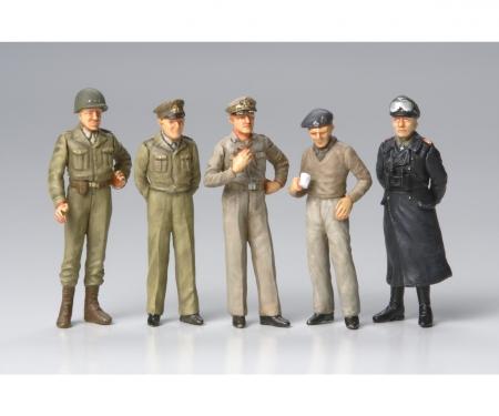 tamiya 1:48 Figure-Set Famous Generals (10)
