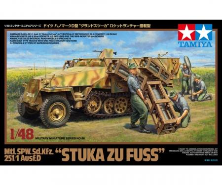 "tamiya 1:48 Sd.Kfz.251/1 ""Stuka z.Fuss"" Halftr."