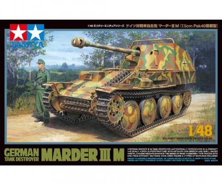 tamiya 1:48 WWII Ger. Tank Destroy. Marder IIIM