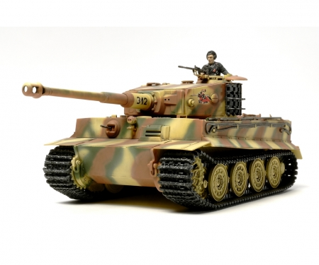 tamiya 1:48 Dt. Tiger I Späte Produktion Ten.