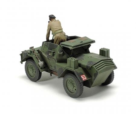 tamiya 1:48 WWII Brit. Armo. scout car Dingo II
