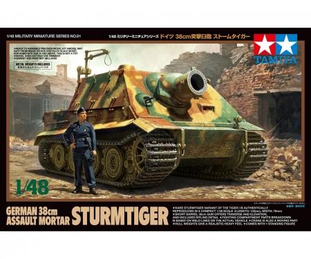 tamiya 1:48 Dt. Sturmtiger 38cm