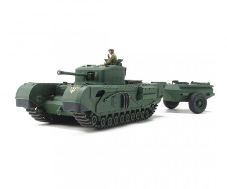 tamiya 1/48 Churchill MkVII Crocodile