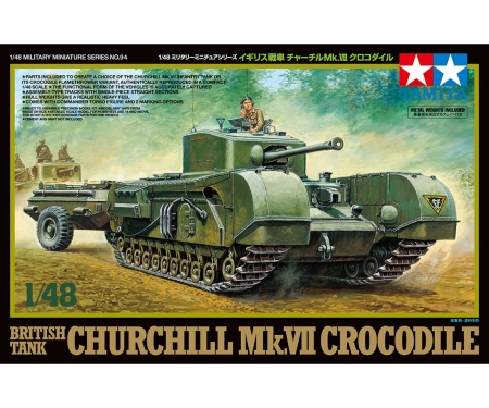 tamiya 1/48 Churchill MkVII Crocodile