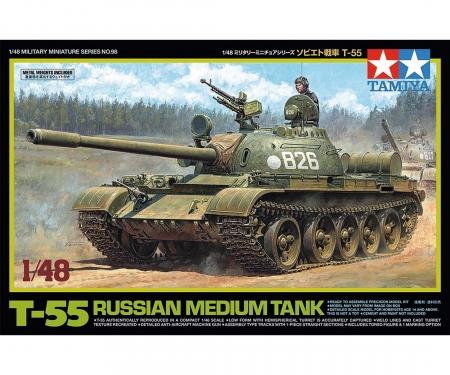 tamiya 1/48 T-55
