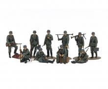 tamiya 1:48 Fig.-Set Ger. Wehrm. Infantry (10)