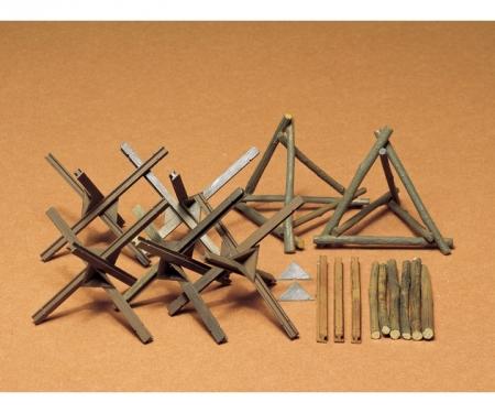 tamiya 1:35 Diorama-Set Barricade