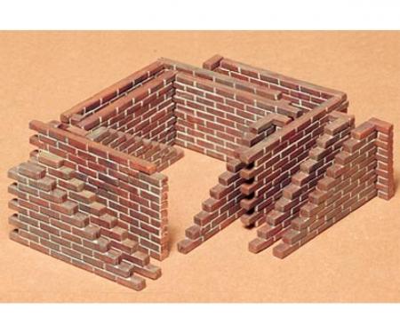 tamiya 1:35 WWII Diorama-Set Brick Wall (22)