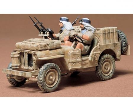 tamiya 1:35 WWII British S.A.S Jeep (2)