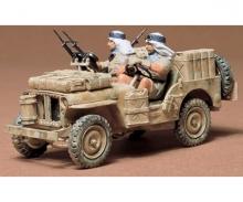 tamiya 1:35 WWII Britisch S.A.S Jeep (2)