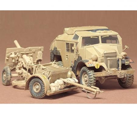 tamiya 1:35 Brit. 25pdr Field gun w/Veh.(1)