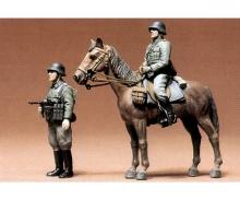 tamiya 1:35 Ger. Fig. Infantery mounted (2)