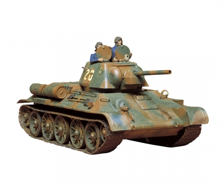 1:35 WWII Sov.Tank T-34/76 1942/43 (3)