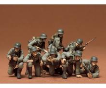 tamiya 1:35 WWII Fig.-Set Ger.Tank Grenadie.(8)