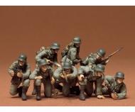 1:35 WWII Fig.-Set Ger.Tank Grenadie.(8)