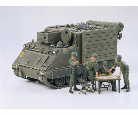tamiya 1:35 US M577 Command Post Amoured (5)