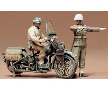 tamiya 1:35 US Military Police Motorcy. (2)