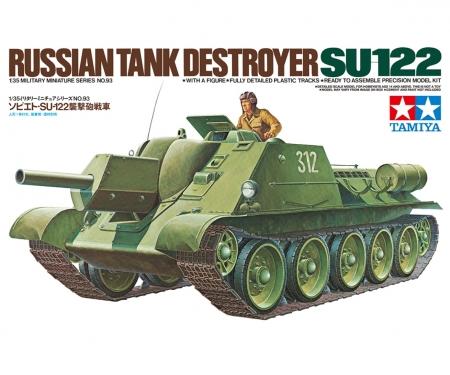 1:35 Soviet Tank SU-122
