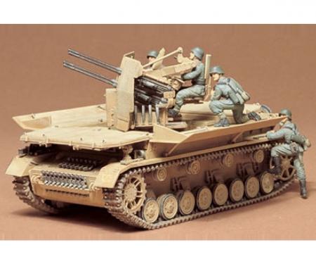 tamiya 1:35 Ger. Flak-Pz IV Möbelwagen (4)