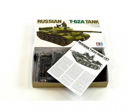 tamiya 1:35 Soviet Mainbattletank T-62A (1)