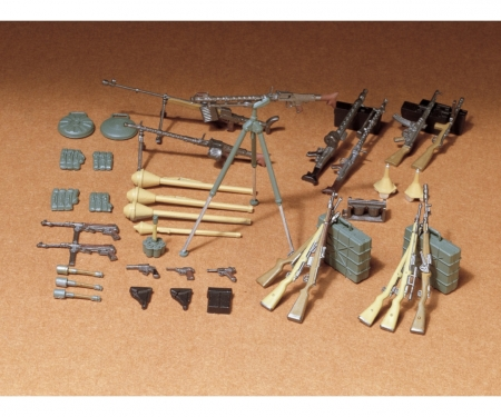 tamiya 1:35 Diorama-Set Ger. Weapons Inf.(24)