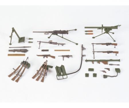 1:35 Diorama-Set US Infanterie-Waffen