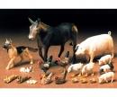 tamiya 1:35 Diorama-Set Haustiere (18)