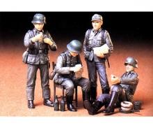 Inf 300035030 Tamiya 1:35 WWII Fig.-Set Dtsch