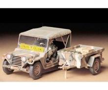 tamiya 1:35 US M151A2 Ford MUTT w/Cargo Tra.(1)