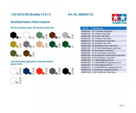tamiya 1:35 US M2 Bradley I.F.V (1)