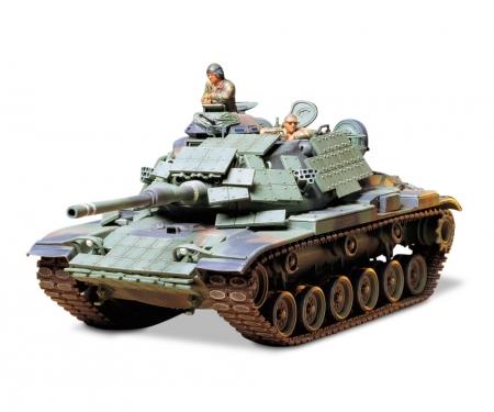 tamiya 1:35 US Mar.MBT M60A1 w/Reacti. Armor(3)