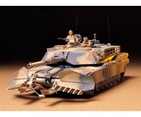tamiya 1:35 US MBT M1A1 Abrams w/Mine Plow(2)