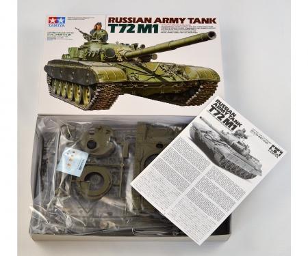 1:35 Russian Army Tank T72M1