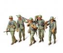 tamiya 1:35 WWII Fig.-Set MG-Trupp i.Manöver(5)