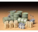 tamiya 1:35 Diorama-Set Ger.Barrel & Jerry Can