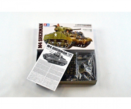 tamiya 1:35 US Mitl. Pz. M4 Sherman Früh. (3)