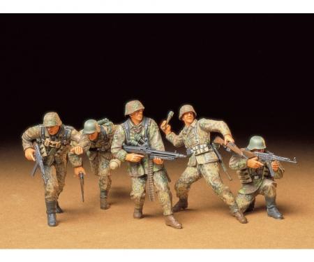 tamiya 1:35 Fig-Set Ger. Front-Line Soldiers(5)