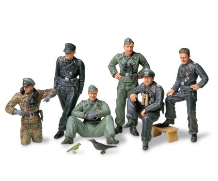 1:35 ig-Set Ger. Tank Crew Rest(6)