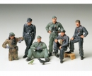 tamiya 1:35 Fig-Set Ger. Tank Crew Rest(6)