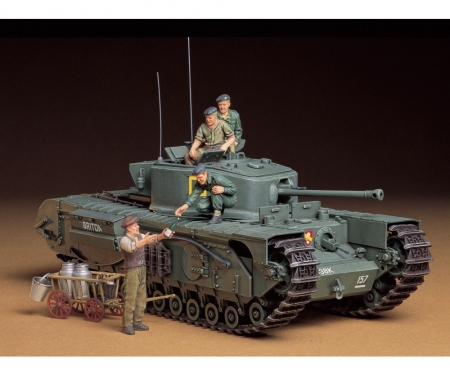 tamiya 1:35 Brit. Tank Churchill Mk.VII (6)
