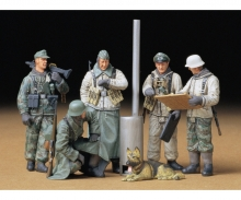tamiya 1:35 Fig-Set G. Sol.Field Brief.(5)