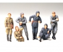 tamiya 1:35 WWII Fig-Set Sov.Tank Crew Rest(6)