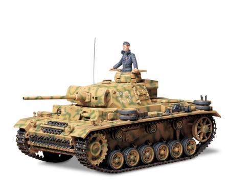 tamiya 1:35 Ger. PzKpfw. III Ausf. L (1)