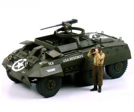 tamiya 1:35 WWII US M20 Armored Utility Car (2)