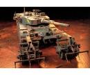 tamiya 1:35 JGSDF MBT Typ 90 w/ Mine Roller(2)