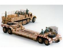 1:35 WWII SdKfz.9 Famo w/ Lowloader(12)