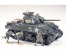 tamiya 1:35 US Sherman M4A3 75mm Späte (9)